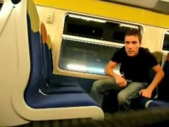 Masturbating On A Train