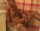 Mature Guy Blake Jerking Off