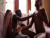 Black Cocks Rubbing In Cum