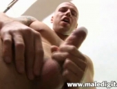 Jerking His Cock After Moving In