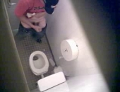 Public Bathroom Spycam Masturbation