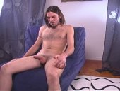 str8 long hair dude with big thick cock gets BJ from me
