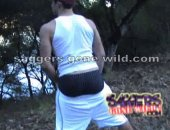Straight Boy Forest Ass Flash